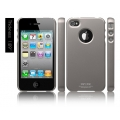 SGP iPhone 4 Case Ultra Thin Matte Series [Gun Metal] (SGP07006)